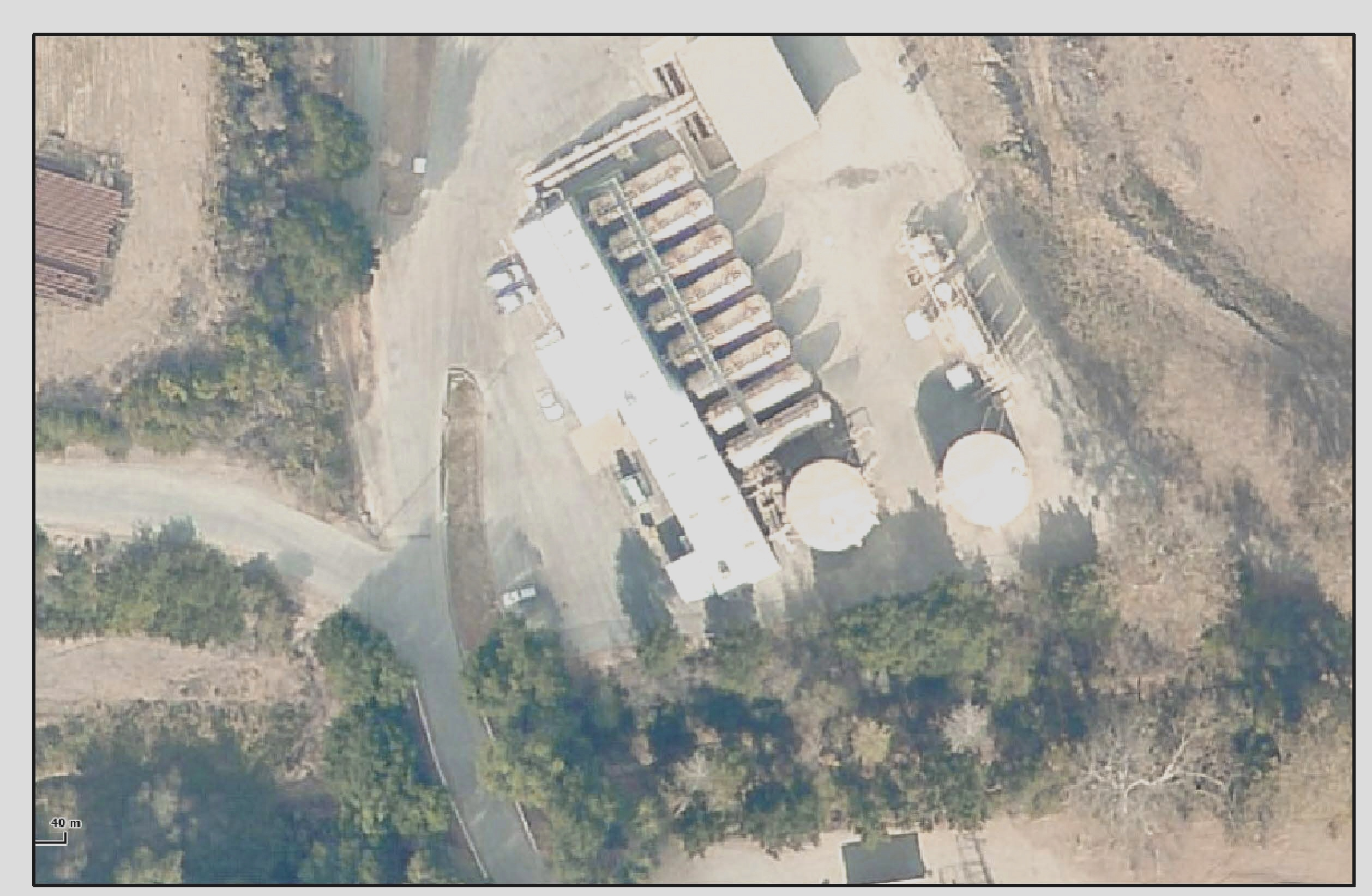 Treatment Plant Aerial