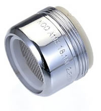 1.5 gallons-per-minute bathroom faucet aerator