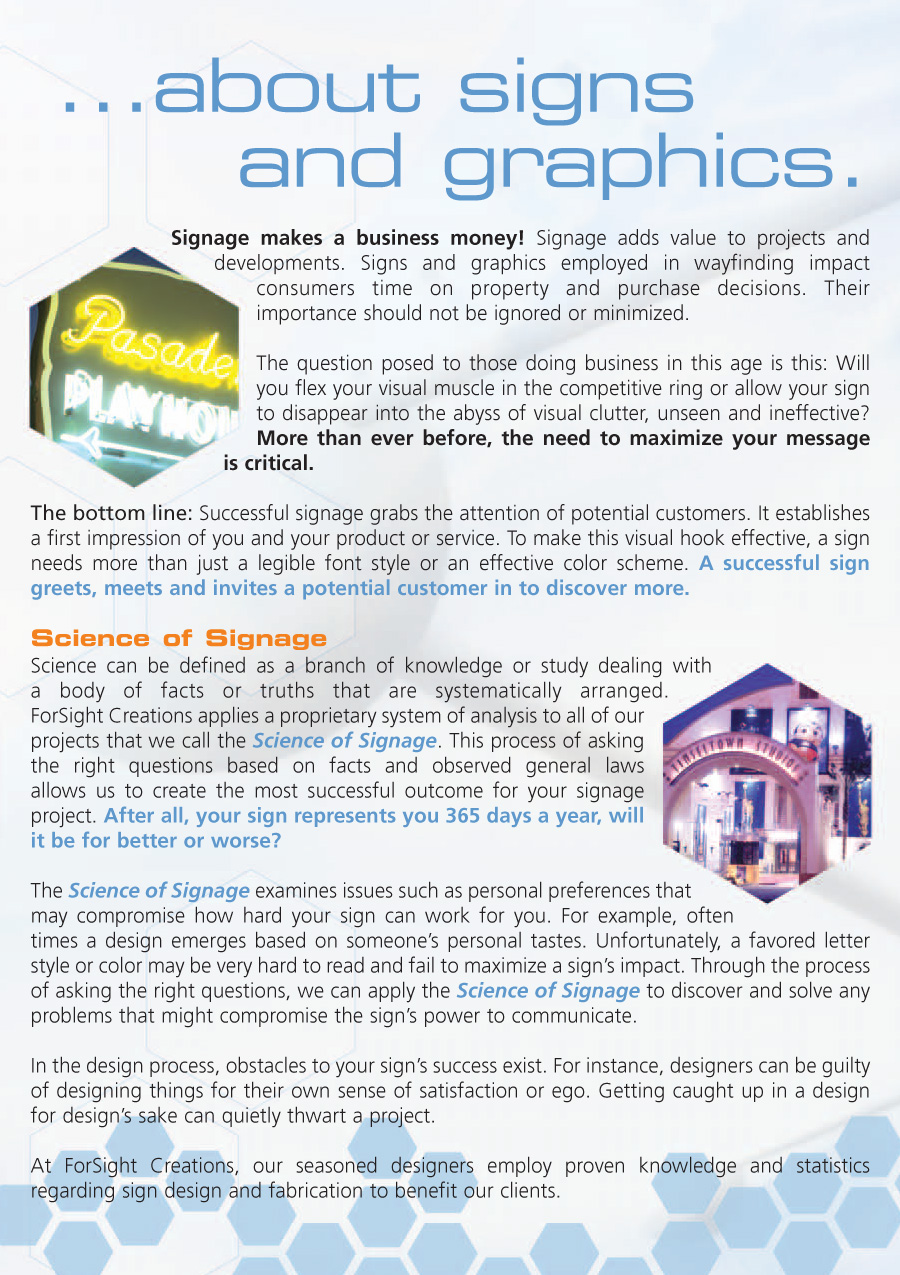 Science of Signage page 2