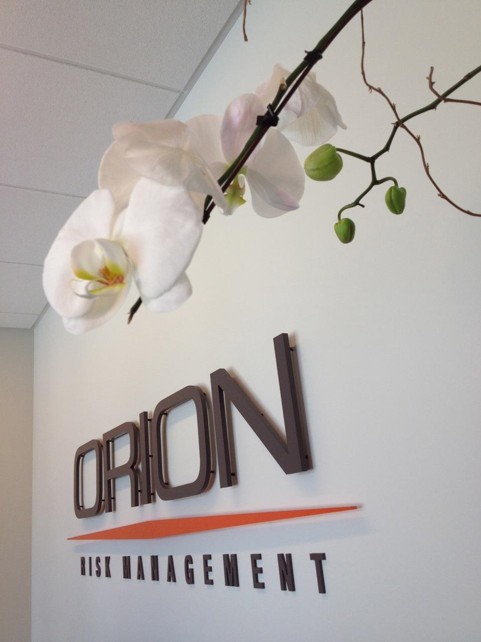 Orion Risk Management sign