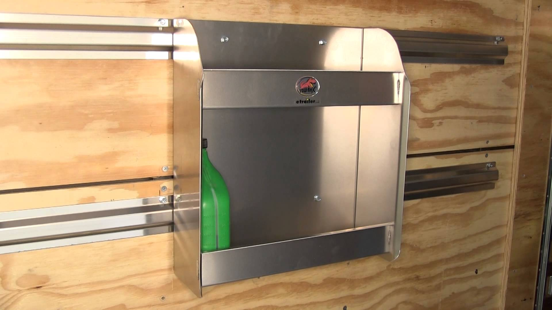 mounting cabinets in enclosed trailers