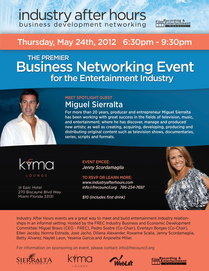 Business Networking for the Entertainment Industry