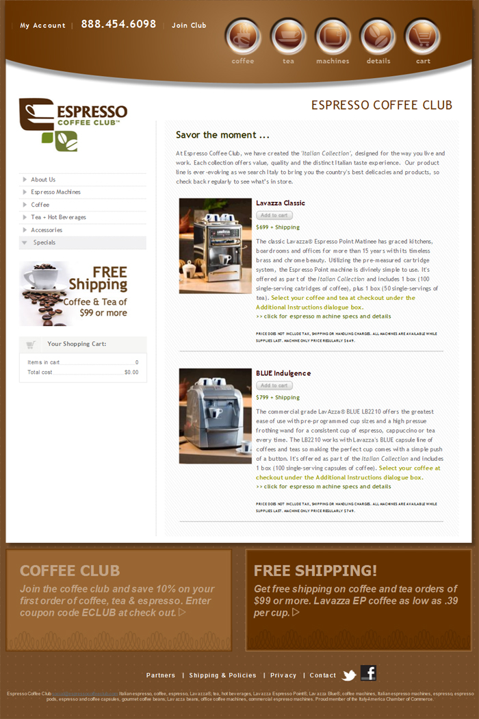 Espresso Coffee Club