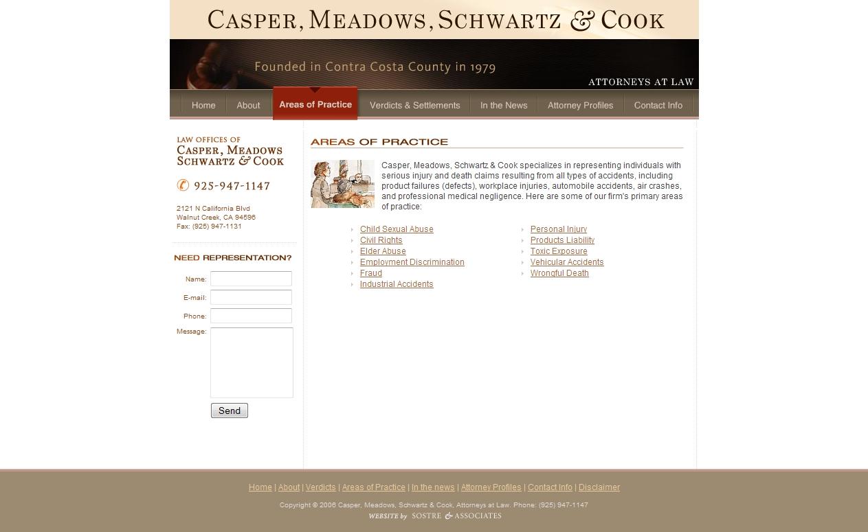 Casper, Meadows, & Schwartz is an