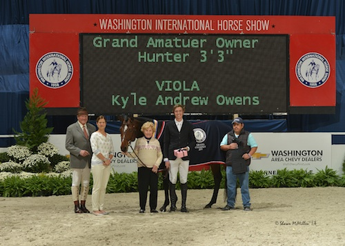 The winning presentation for Kyle Owens and Voila.