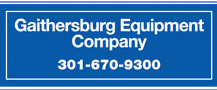Gaithersburg Equipment Logo