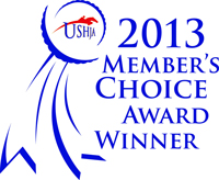 ushja members choice award-winning horse show