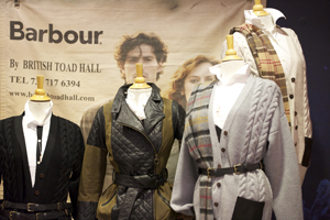 wihs boutiques barbour