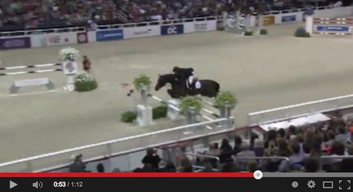 Watch McLain Ward and HH Carlos Z in their winning round!