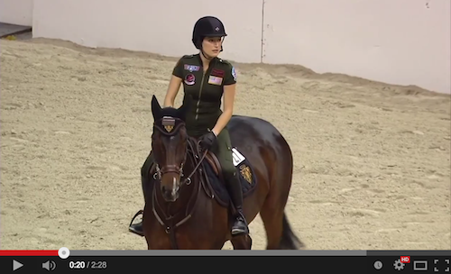 Watch Jessica Springsteen win the Gambler's Choice!
