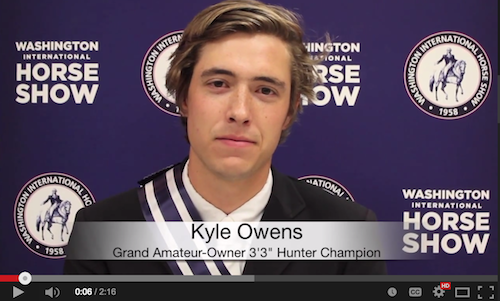 Watch an interview with Kyle Owens!
