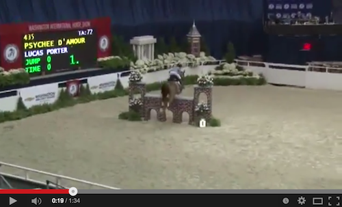 Watch Lucas Porter and Psychee d'Amour in their winning classic round!