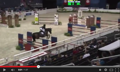 Watch Victoria Colvin in her winning classic round with Chanel B 2!