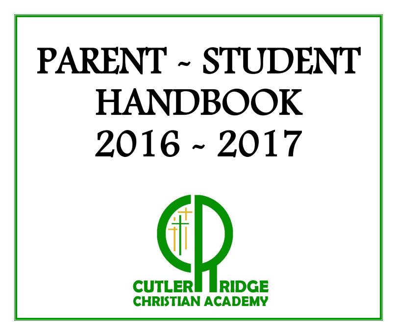 Parent Students Handbook 2016-2017