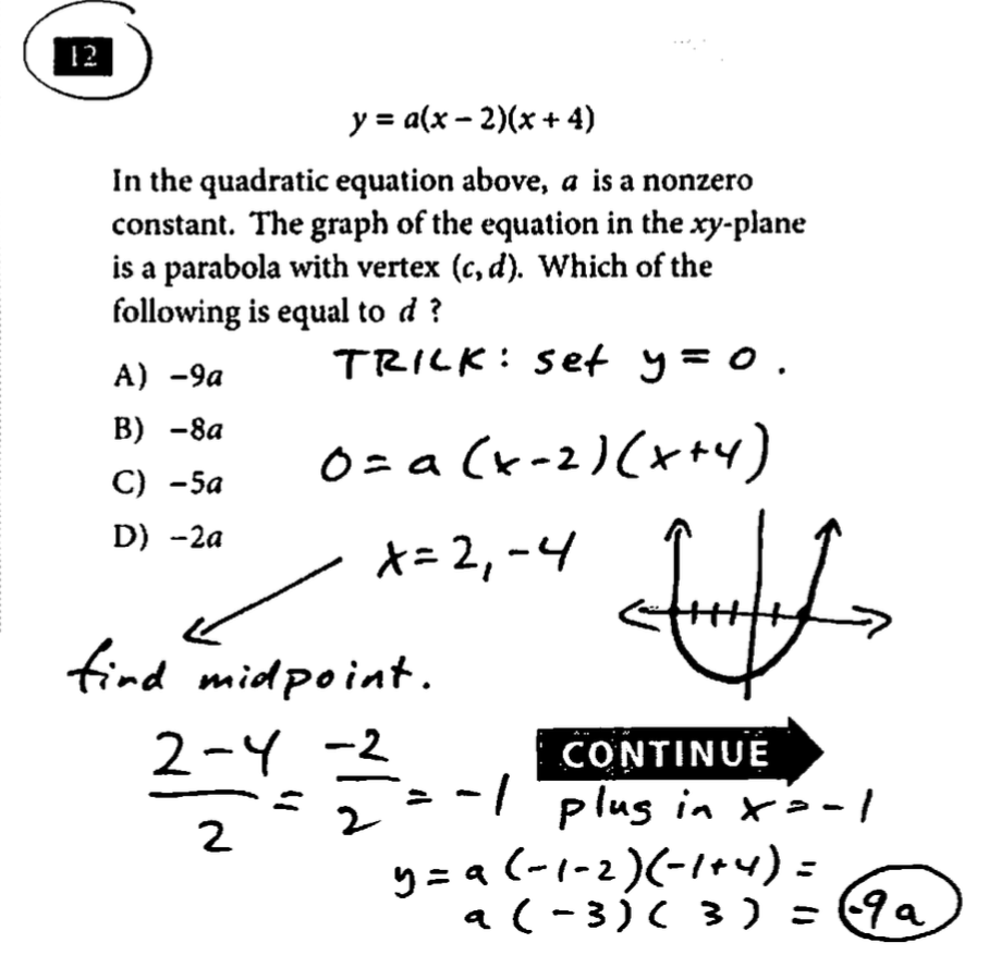 Sat question of the day test 3 sec 3 math nc 12 falaconquin