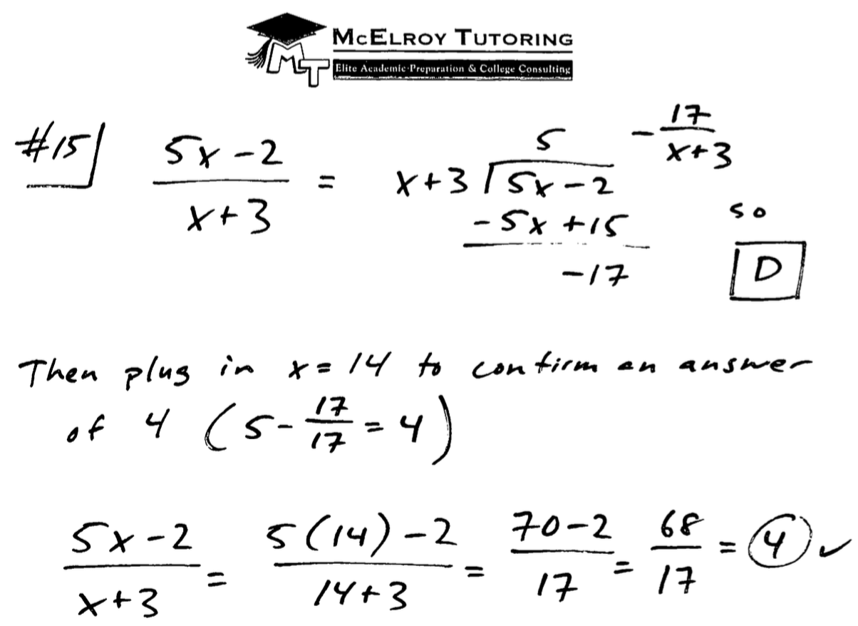 Free Explanations to Selected new SAT Questions from Tests #1-9, and ...