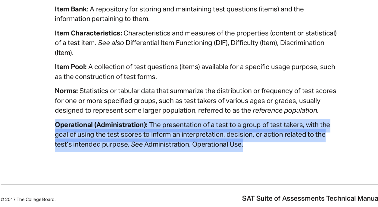 Are the SAT and ACT