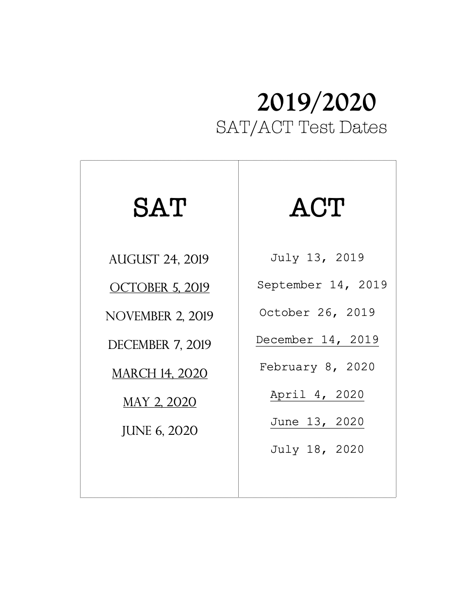 26 act to sat