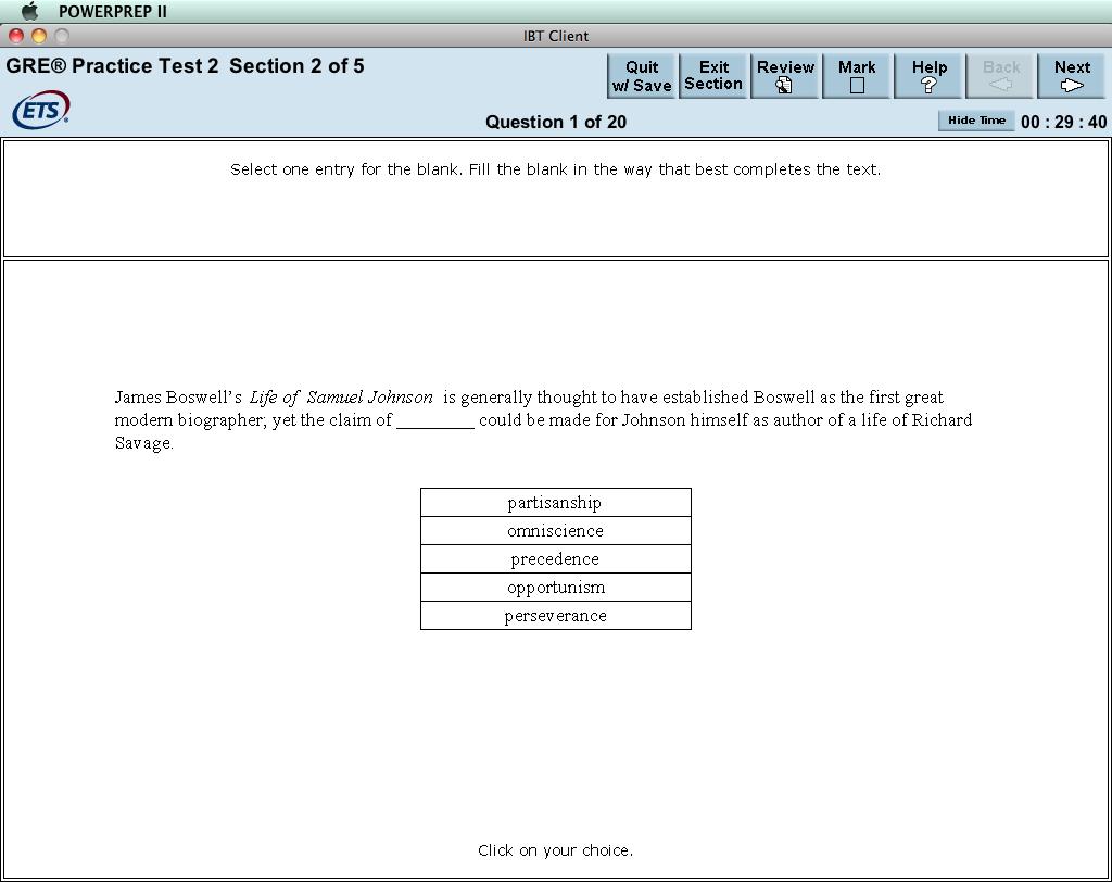 How to Navigate the Free GRE PowerPrep software
