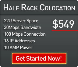Half Rack Colocation in Miami