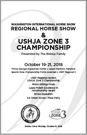 WIHS Regional Horse Show & Zone 3 Finals - Washington International
